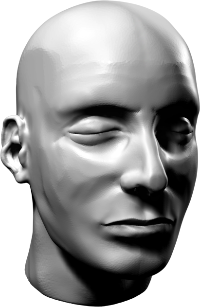 Noodling around tonight with a free modeling program called Sculptris. It's basically a stripped-down ZBrush, but with fancy magic that automatically subdivides on the fly.