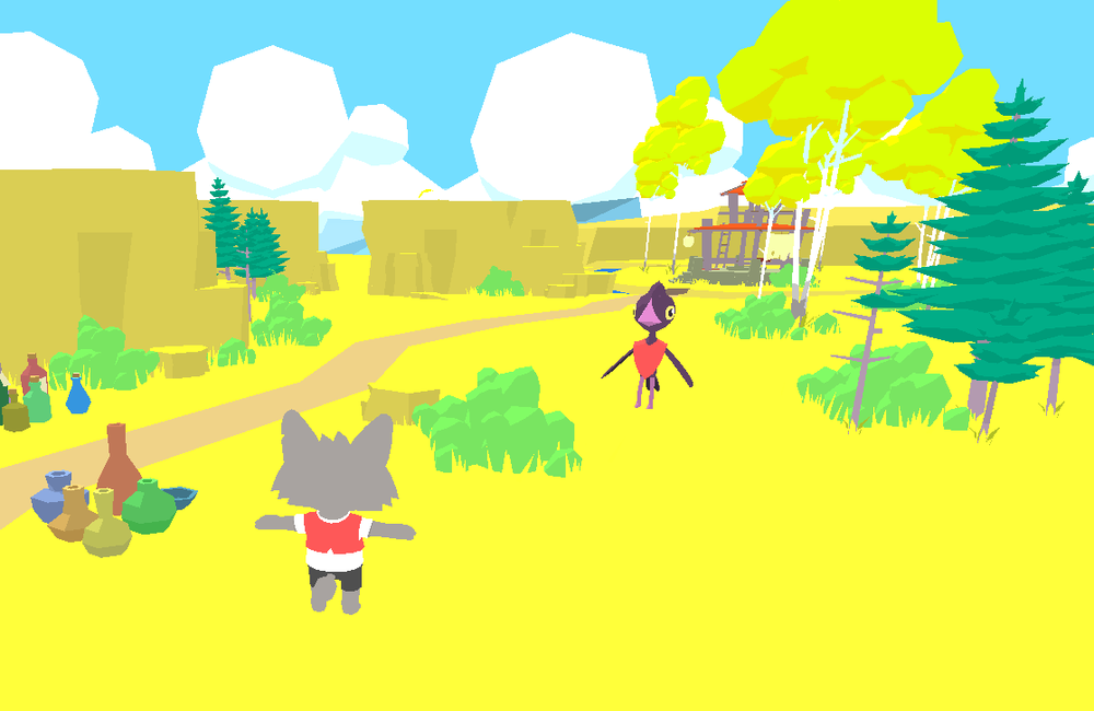 Starting to pull things together in Unity and getting my shaders looking how I'd hoped they would.