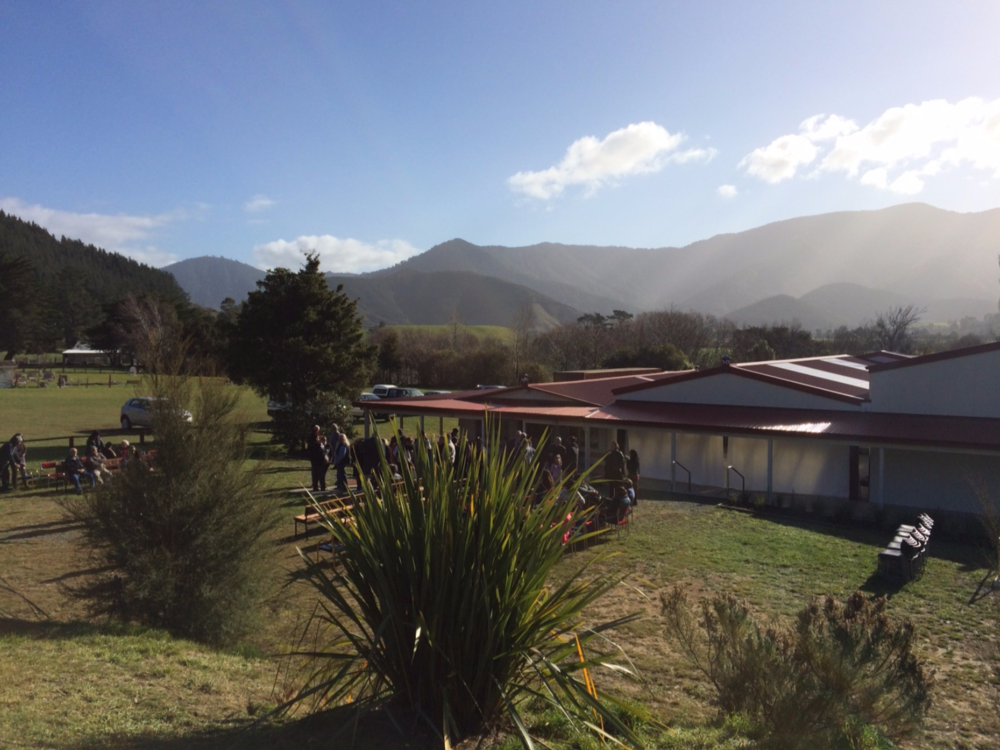 The beauty that is Te Hora Pa, the ancestral home of Ngāti Kuia