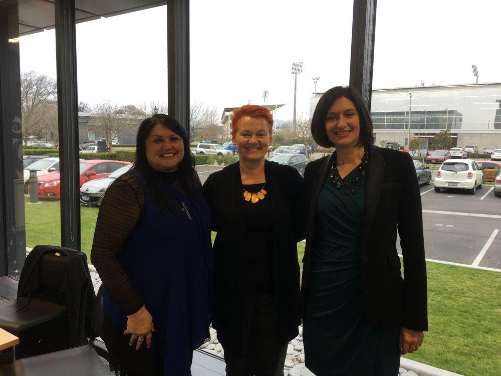 Hera Black, Helen Leahy, Amanda Malu