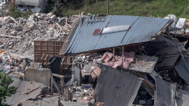 Destruction in Kaikōura