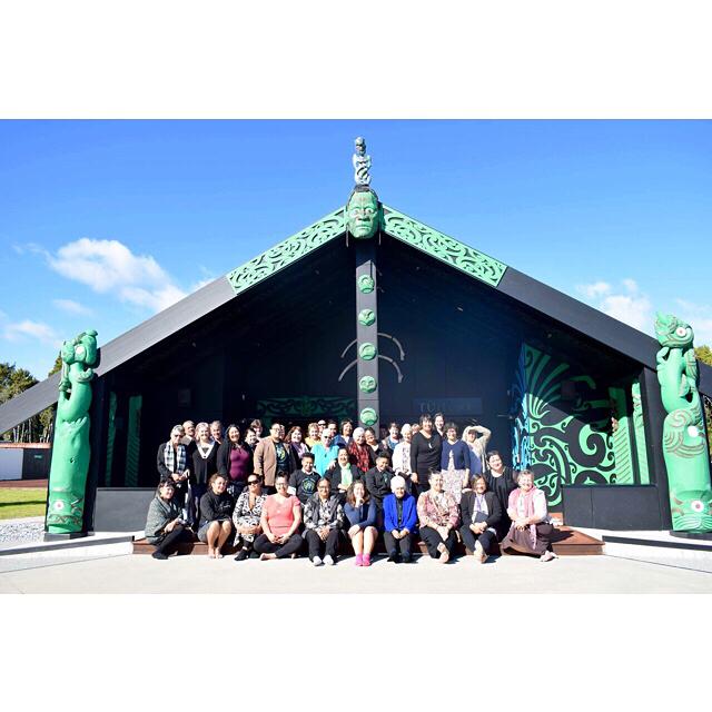 Last week at Arahura marae. Whānau came together for the Tu Pono, Te Mana Kaha o Te Whanau hui. #TuPono #whanauleadingchange #whanau #whanauora #teputahitanga #tewaipounamu