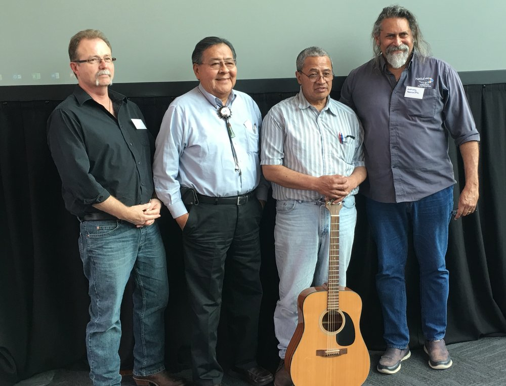 Graham Jobson (Ontario); Albert Pooley (Native American); Daniel Mataki (Māori); Anthony Newcastle (Aboriginal)