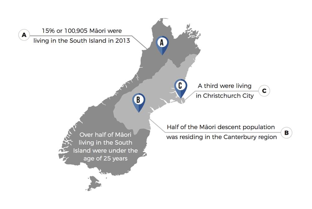 Te Waipounamu Map