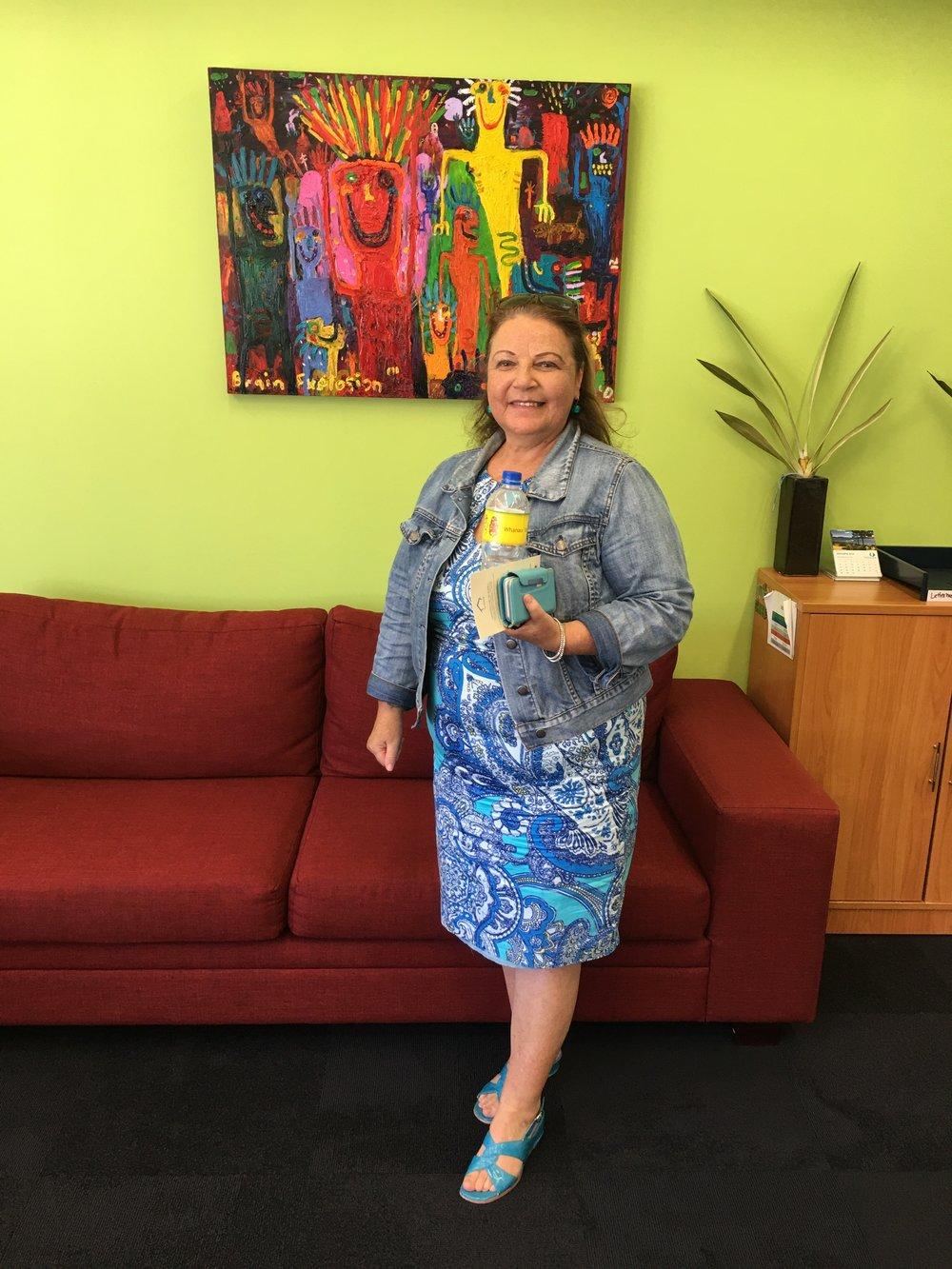 Christine Maxwell from Te Roopu Tautoko ki te Tonga