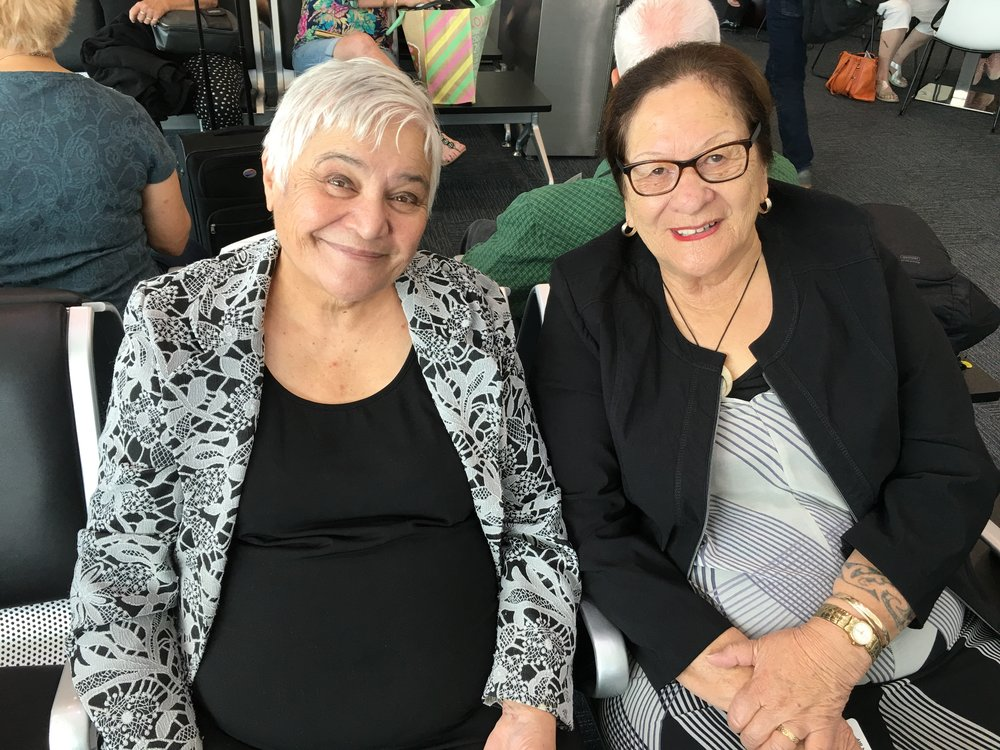 Dame Tariana Turia and Whaea Molly Luke