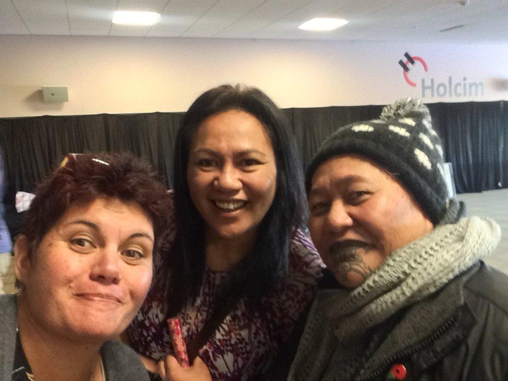 5Rewa Skipper from Owen River, who spoke of her influence from whanau for wellbeing. Lovey Welsh from Te Hauora o Ngati Rarua.