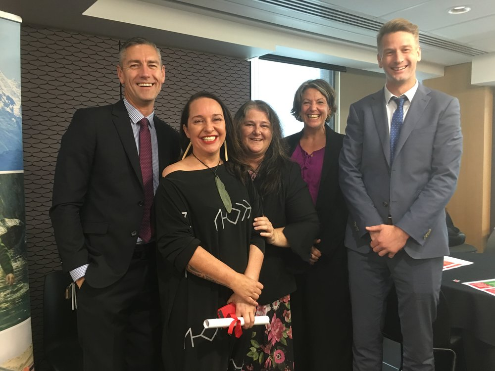 The Christchurch based 'A Team' in establishing the partnership
