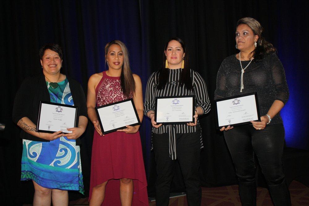 L-R, Maria Briggs,Awhina Dixon, Ani Tomoana and Kelly McDonald Beckett.