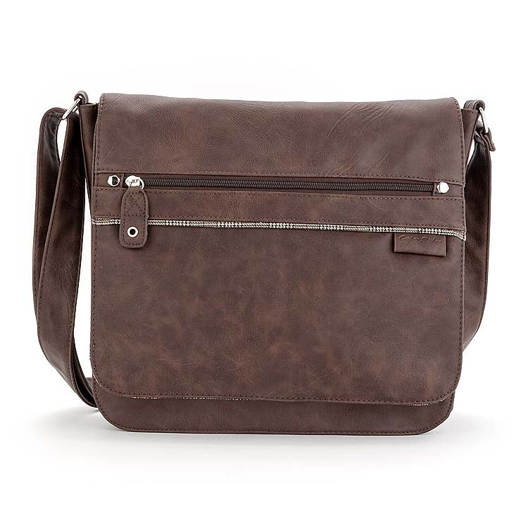 Steve Madden Leather Briefcase Product Photography