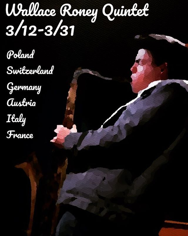 Looking forward to the Spring tour with the Wallace Roney Quintet!!! with @oscarwilliams2 Curtis Lundy and Eric Allen!