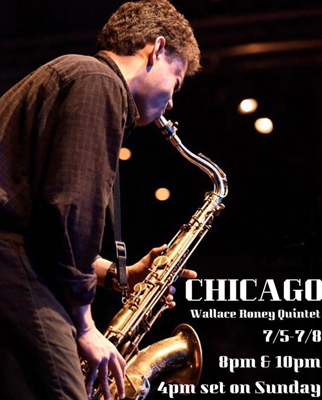 See you at the Jazz Showcase in Chicago from July 5th - 8th!! Sets are at 8pm and 10pm with a 4pm set on the 8th. #jazzshowcase #chicago #wallaceroney #emiliolmodeste @chi__jump @alexislombre