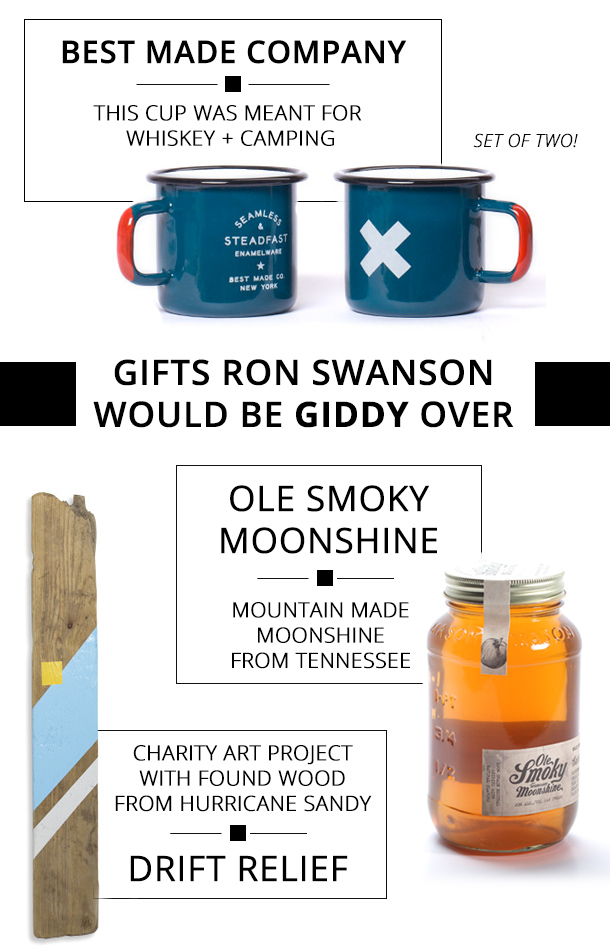 Valentine's Gifts that would make Ron Swanson Giddy