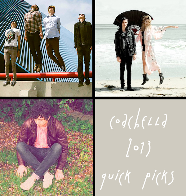 Coachella 2013: Quick Picks