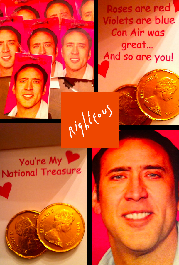Nicolas Cage Valentine's Day Cards