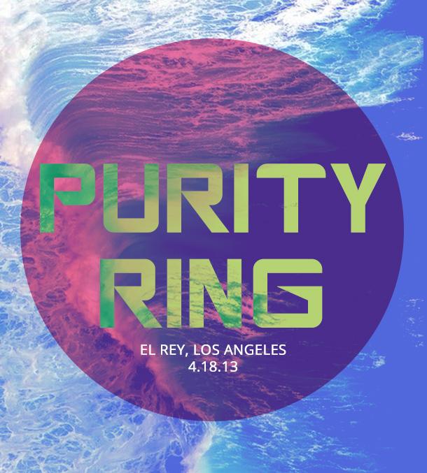 Purity Ring @ the El Rey Los Angeles