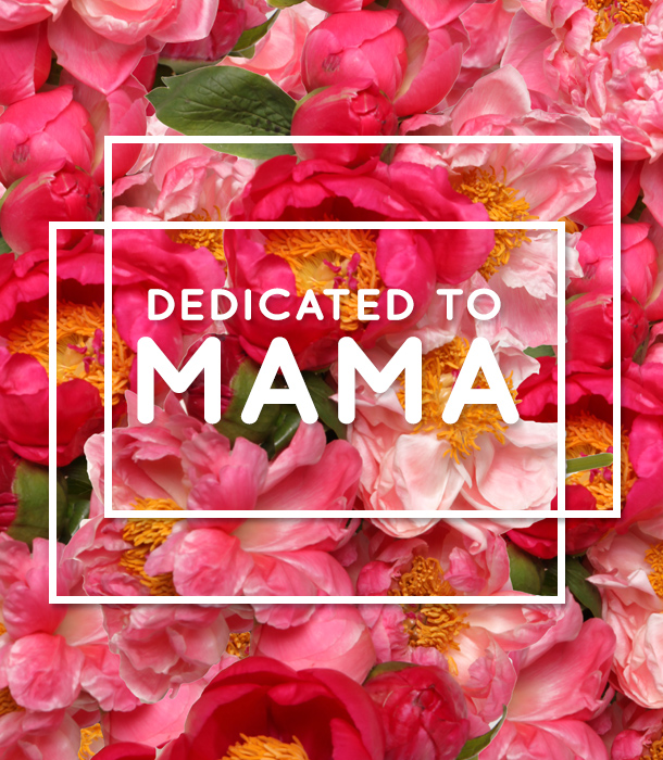 Dedicated to Mama: Songs for Mom. #mothersday #music #flowers #quotes #flowermuse #peonies #bourbonandgoose