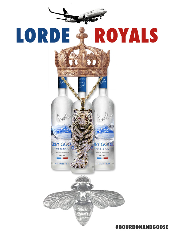 Lorde's Royals. #NewMusic #BourbonandGoose