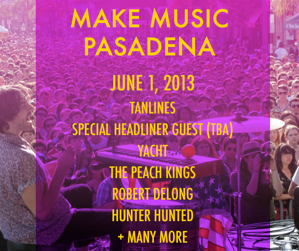 Make Music Pasadena 2013 #music