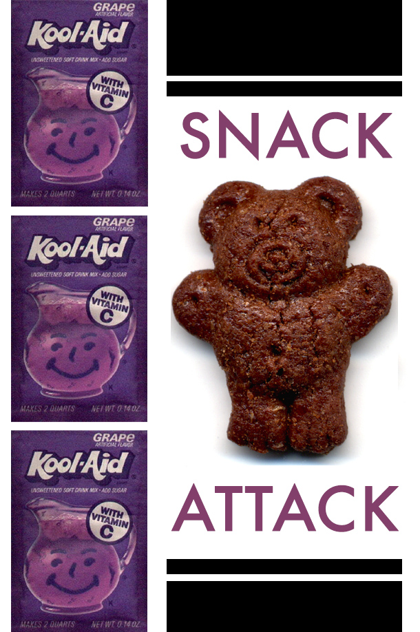 Snack Attack Teddy Graham and Kool-Aid
