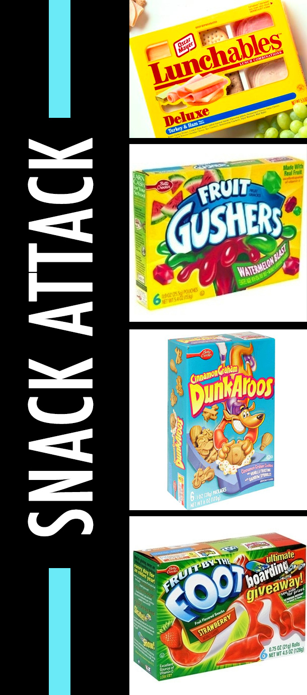 Snack Attack - 90s Lunch Snacks
