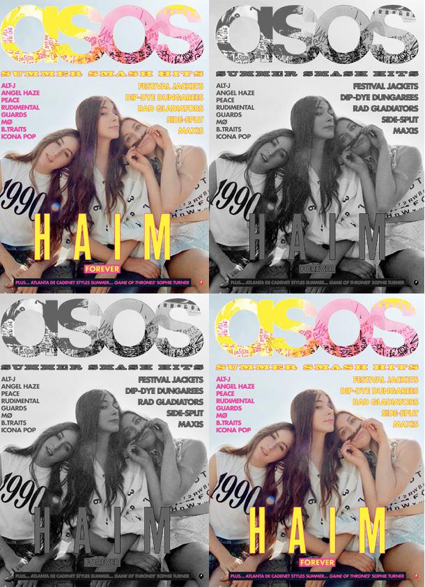 HAIM for ASOS 2013