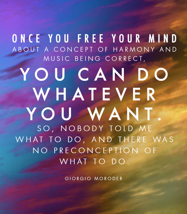 Giorgio Moroder Quote from Daft Punk's Giorgio by Moroder