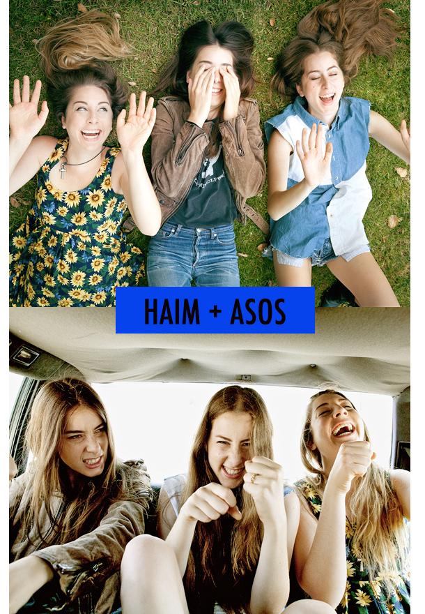 HAIM + ASOS