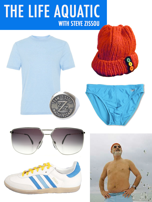 Wes Anderson: The Life Aquatic with Steve Zissou Style / Costume Inspiration