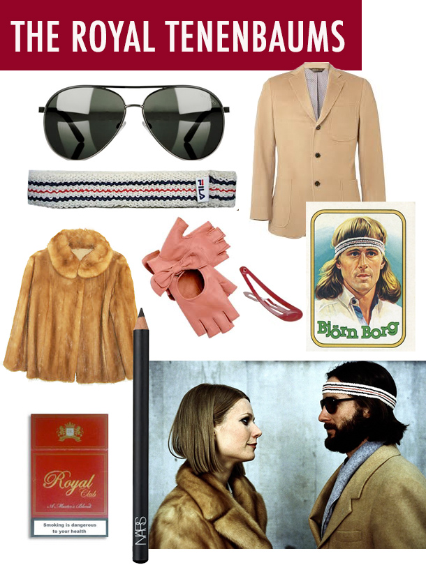 Wes Anderson: The Royal Tenenbaums Style / Costume Inspiration