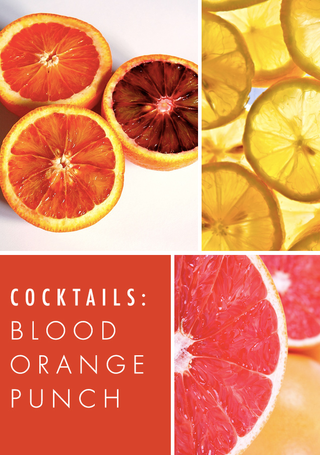 Cocktails: Blood Orange Punch