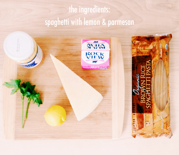 Tried & Tested: Spaghetti Lemon Parmesan