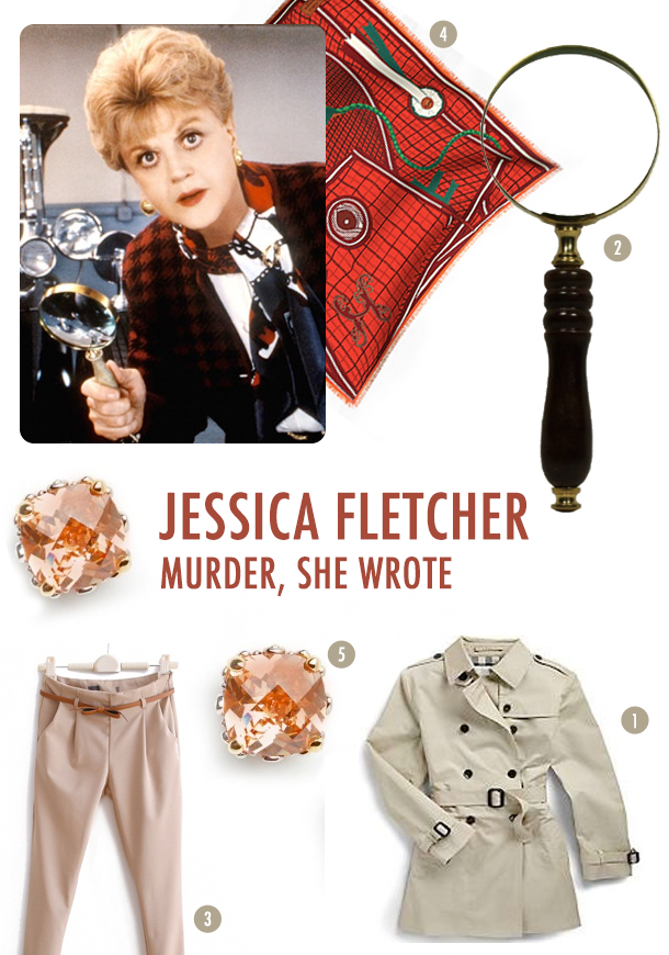 Costume Inspiration: Jessica Fletcher from Murder She Wrote