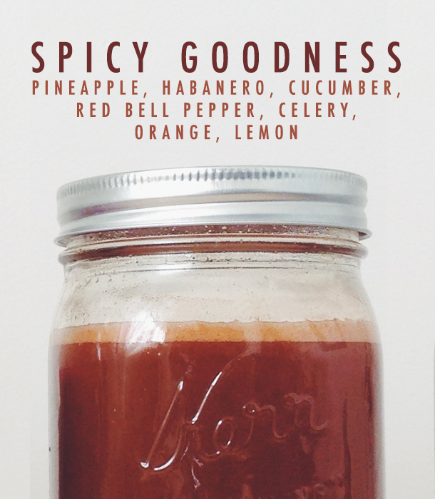 Spicy Goodness Juice