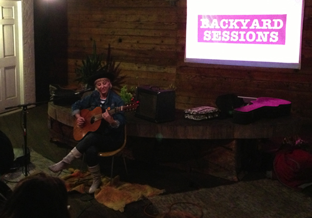Sophia Knapp / Music Mania 6 / Backyard Sessions