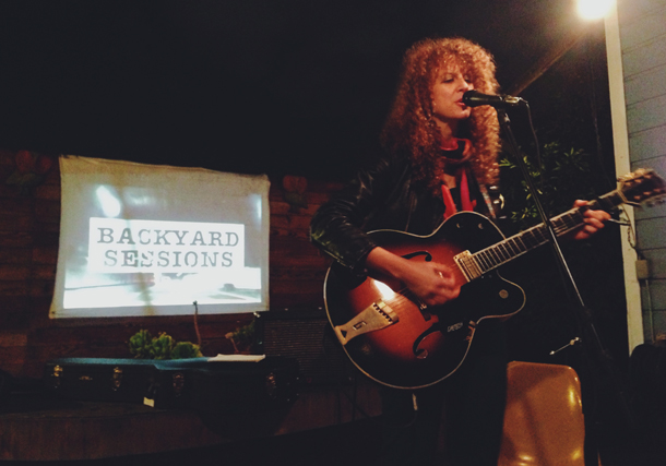 Alana Amram / Music Mania 6 / Backyard Sessions