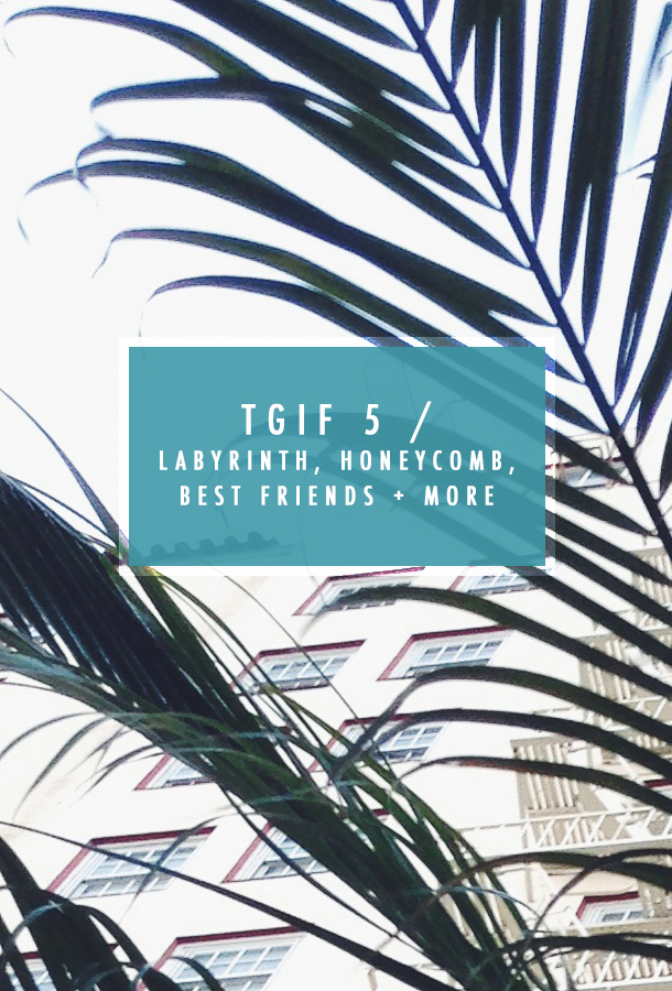 TGIF 5 /  Labyrinth, Honeycomb,  Best Friends + more