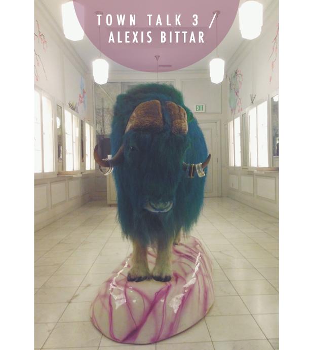 Town Talk 3 / Alexis Bittar