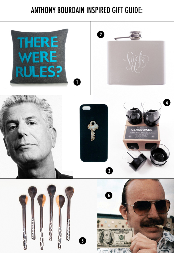 Gift Guide: For The Anthony Bourdain In Your Life