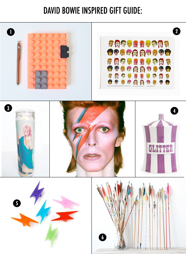 David Bowie Gift Guide and Music Playlist / Bourbon and Goose