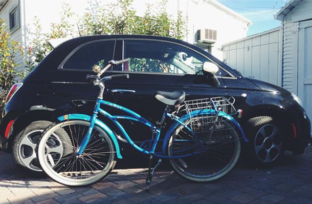 Gigawatt the Fiat 500e vs Bike