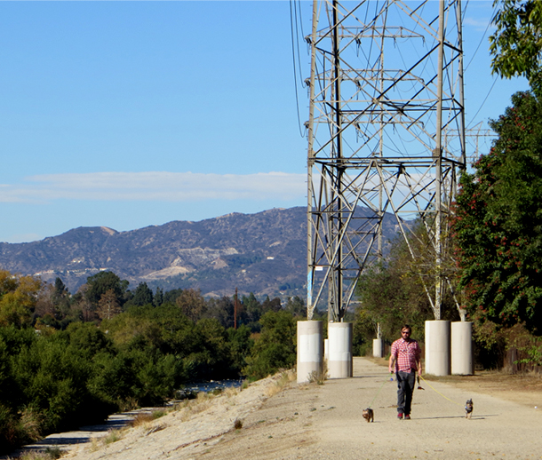 Glendale Narrows Walk Path / LA River / Bourbon and Goose