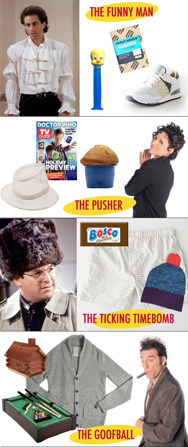 Seinfeld Inspired Holiday Gift Guide