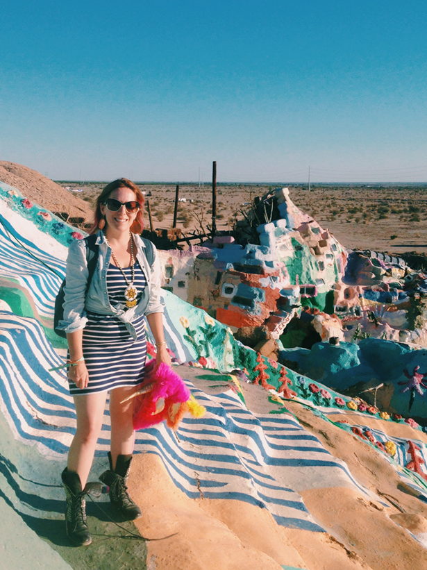 Salvation Mountain / Bourbon and Goose