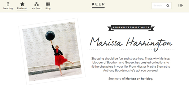 Guest Stylist on Keep.com