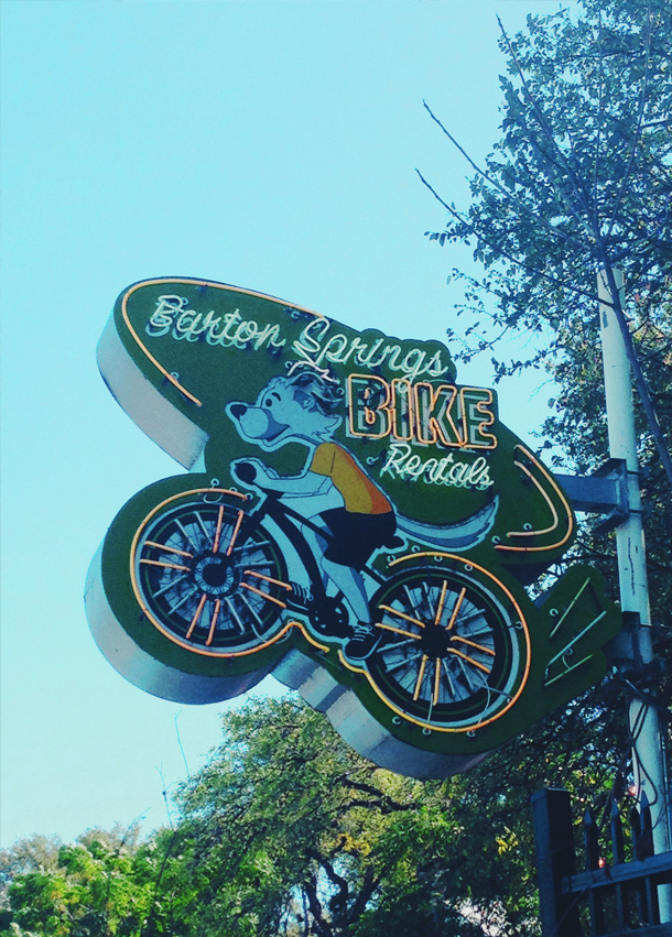 Barton Springs Bike Rental / Austin City Limits Music Festival 2013 / Bourbon and Goose / Travel