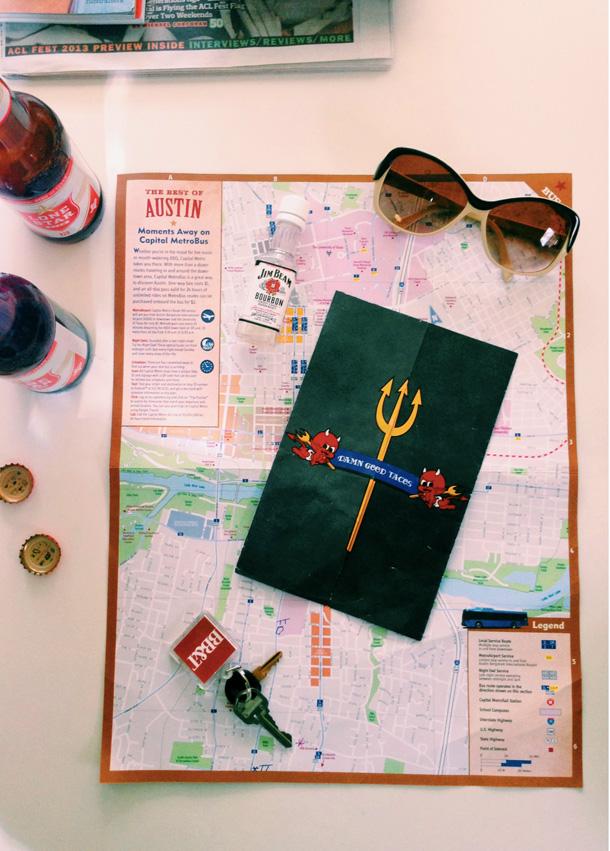 Maps / Austin City Limits Music Festival 2013 / Bourbon and Goose / Travel