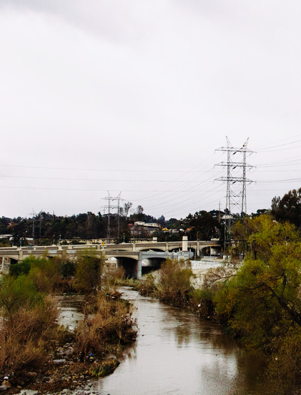 Adventure: Sadly there's a ton of trash in the LA River after the rain comes through / NELA / LA River / Bourbon and Goose