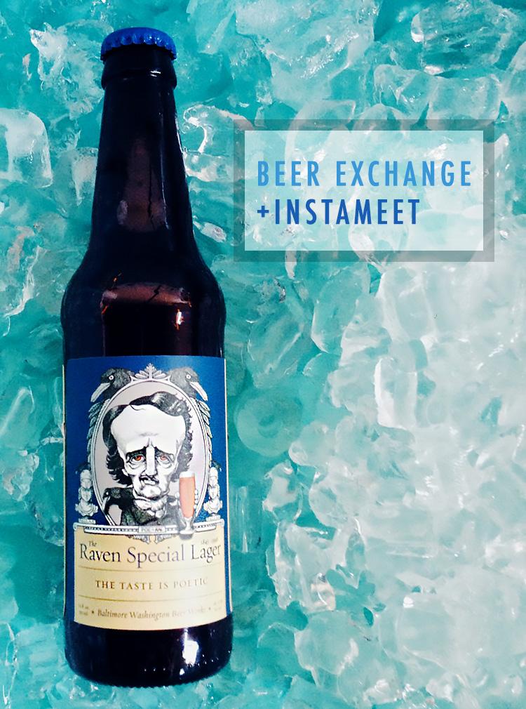 Bourbon and Goose: Beer Me Exchange and InstaMeet