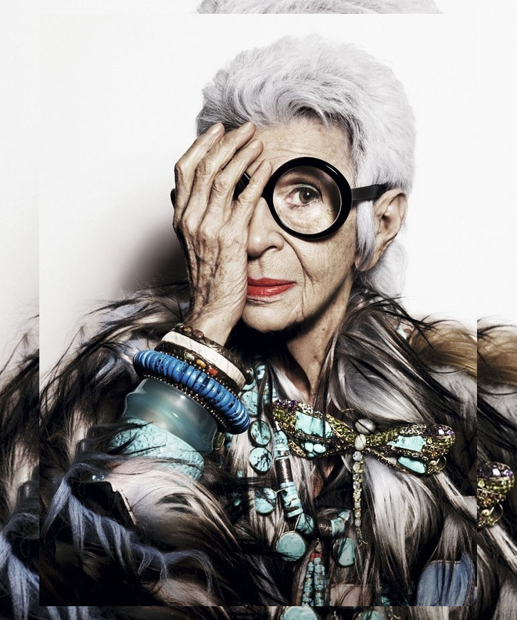 Iris Apfel by Fashion Photographer: Alique